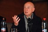 Edgar Morin participou de palestra no Sesc Consolação, São Paulo.