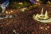 """Manifestantes querem processo constituinte """"transparente e democrático"""" (Foto divulgada pela Juventud sin futuro)"""