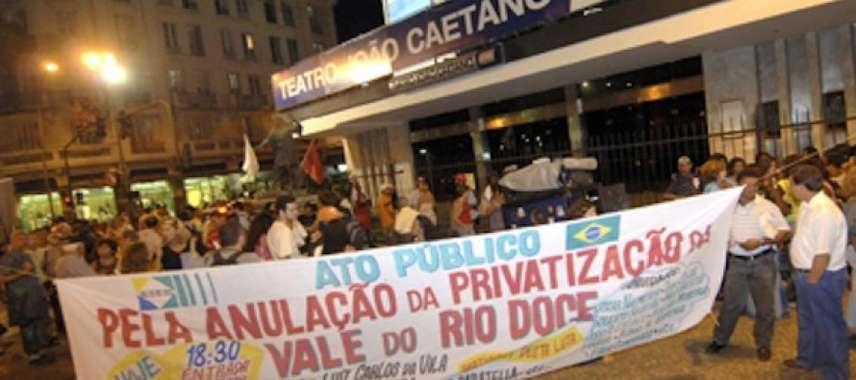 Justiça reconhece fraude na privatização da Vale do Rio Doce