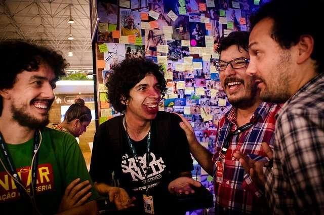 Capilé reunido com Lino Bocchini e Ale Youssef (Foto: Divulgação)