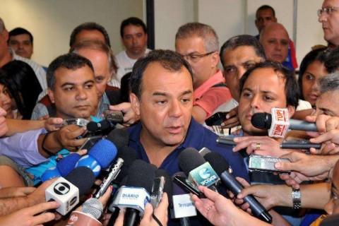 Cabral quer manter Pezão na vitrine para 2014 (Valter Campanato/ABr)