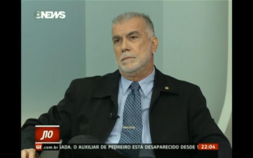 Francisco Carlos Teixeira (Foto: Reprodução/GloboNews)