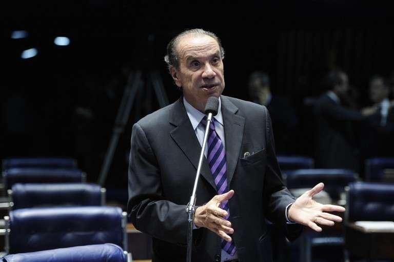 """O ex-diretor da Siemens Everton Rheinheimer já havia citado o senador Aloysio Nunes em relatório onde mostra """"a existência de um forte esquema de corrupção no Estado de São Paulo"""" (Foto: Pedro França/Agência Senado)"""