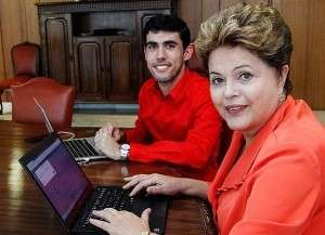 Presidenta já se reuniu com o autor do perfil fake(Instagram/Palácio do Planalto)