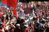 O foco central de diversas mobilizações em Portugal tem sido a política de direita do governo de Pedro Passos Coelho Fonte: Correio do Brasil