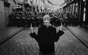 AnonymousBrasil é acusado de deturpar ideais originários do grupo (Foto: Linux)