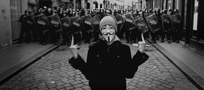 Por divergência política, células Anonymous rompem com AnonymousBrasil