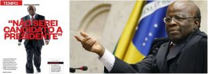 Joaquim Barbosa nega candidatura para presidente (Foto: Reprodução/Brasil247)