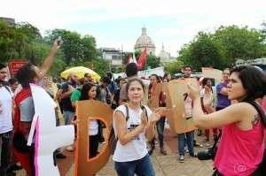 Estudantes aderiram à greve gera (Leonardo Wexell Severo)