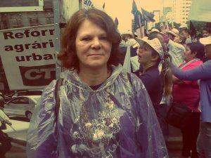 Sônia Coelho, coordenadora da Marcha Mundial das Mulheres (Foto: Igor Carvalho)