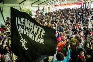 Cerca de 3 mil jovens se reuniram no acampamento do Levante Popular (Foto: Levante Popular da Juventude)