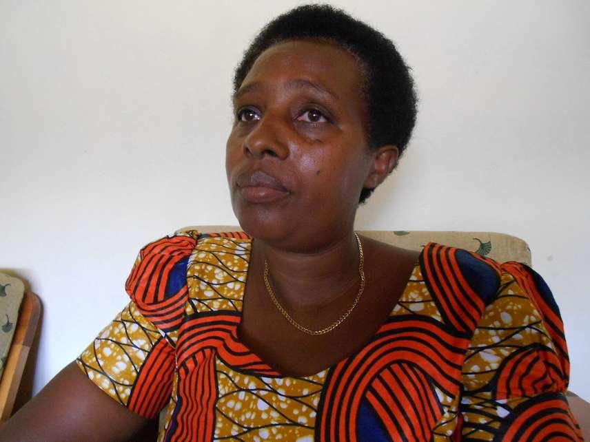 "Josiline Kayitesi, que deu à luz a uma menina após o estupro, disse que a violência sexual ""é algo de que irei me lembrar para sempre"" (Fabíola Ortiz)"