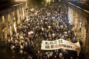 Em 2013, o Bloco de Lutas pelo Transporte Público conquistou a revogação do aumento da passagem (Foto: Mídia Ninja)