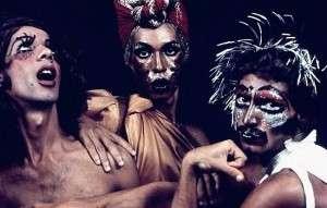 Grupo performático Dzi Croquettes, que rompeu a ordem binária e foram censurados (Foto: Divulgação)
