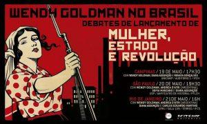 Wendy Goldman vem ao Brasil para uma série de palestras. (Foto: Divulgação).