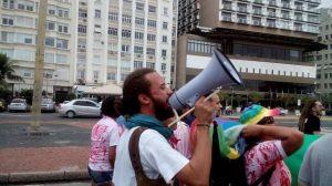 Vinicius Alves, ativista do movimento LGBT da Bahia.