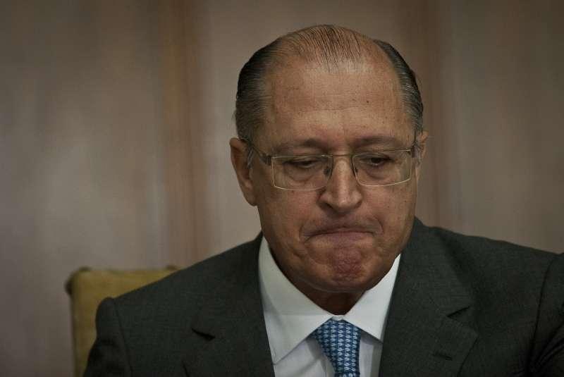 Geraldo Alckmin erra ao falar de pesquisas e de fraude na merenda escolar