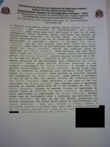 Página 2 do interrogatório