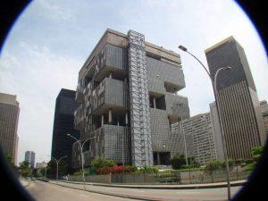 Edifício-sede da Petrobras: obra que marcou o início da atuação da Odebrecht no Sudeste (Rodrigo Soldon)