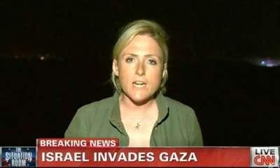 Diana Magnay (Foto: Reprodução/CNN)