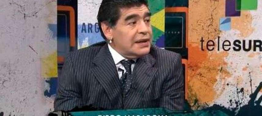"""""""Brasil perdeu em campo, mas ganhou como país"""", diz Maradona sobre Copa"""