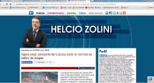 O artigo de Helcio Zolini foi retirado do ar pouco mais de 24h depois de sua publicação (Reprodução)