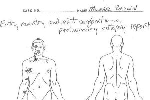 Autópsia mostra que Michael Brown foi alvejado seis vezes pelo policial (Reprodução)