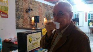 O professor Emir Sader também apoia a reforma política (Foto: Plebiscito Popular)