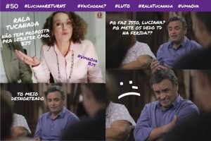Meme da fanpage Ajuda, Luciana.