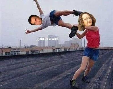 Meme da fanpage Luciana Genro Bolada.
