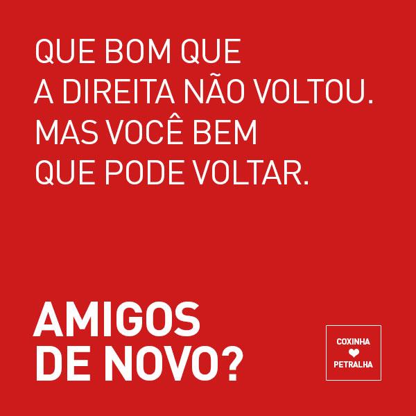 Tumblr Coxinha S2 Petralha Quer Unir Amigos Separados Pela Eleição