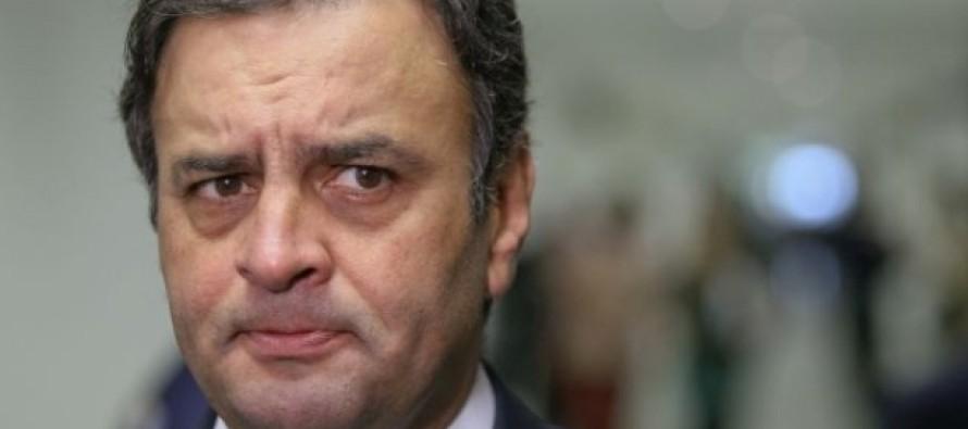 Polícia Federal chega no 'Doutor Freitas' e Aécio Neves desaparece