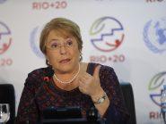 Ex-presidenta do Chile, Bachelet diz ter pena do Brasil