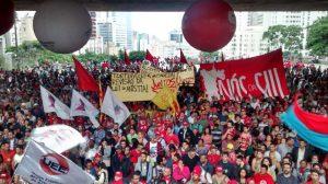 Ato partiu do vão livre do MASP, onde, segundo o MTST, 15 mil manifestantes se reuniram