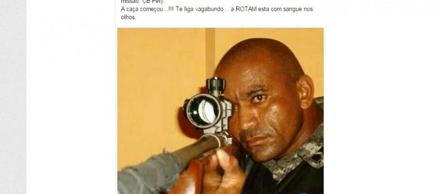 """Chacina no Pará: Rotam afirma que está com """"sangue nos olhos"""""""