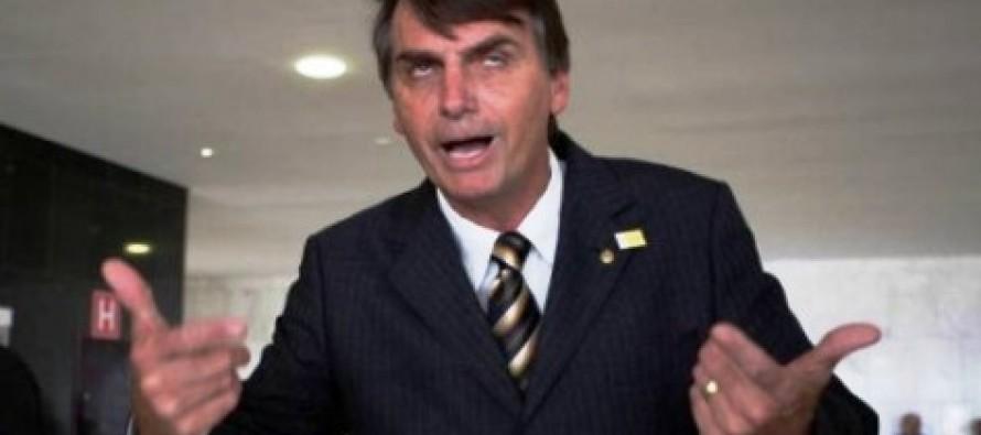 """Bolsonaro faz nova ofensa a Maria do Rosário: """"Não merece ser estuprada porque é muito feia"""""""