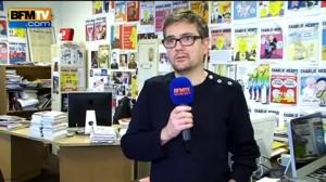 Stéphanie Charb  , diretor do Charlie Hebdo, foi um dos mortos no atentado à redação da revista (Foto: Divulgação)