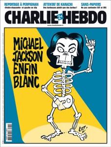 """Ao destacar a morte de Michael Jackson, a revista estampou na capa: """"Michael Jackson enfim branco"""" (Foto: Divulgação)"""