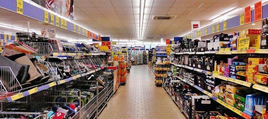 A concentração das empresas nas gôndola do supermercado