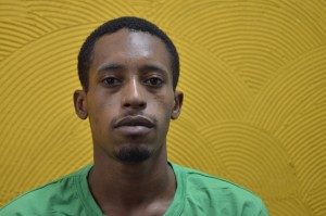 Rafael Braga Vieira, condenado a 5 anos de prisão por portar material de limpeza (Foto: Renata Neder)