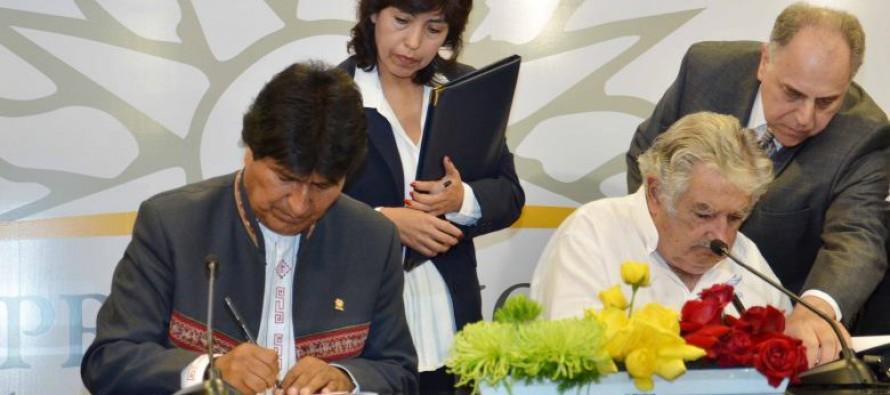 Mujica outorga à Bolívia saída para o Oceano Atlântico