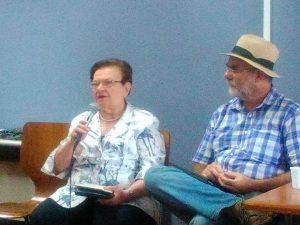 Luiza Erundina e Célio Turino no encontro que definiu o nome do futuro partido-movimento (Foto: Divulgação)