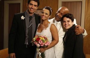 """Naná, Xana e Antônio vivenciaram casamento bissexual em """"Império"""" (Foto: Divulgação)"""