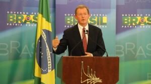 Wallemberg anunciou a transferência de tecnologia após reunião com a presidenta Dilma. Foto: Renan Carvalhais – Gabinete Digital/PR