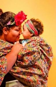 Bia Oliveira e seu filho Ben (Imagem: Arquivo Pessoal)