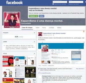 Página fez montagem para atacar blogueira (Foto: Reprodução)