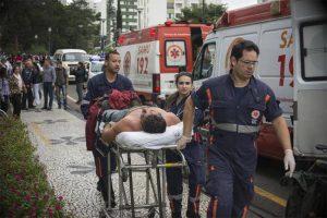 Segundo a Guarda Municipal, são pelo menos cem pessoas feridas (Foto: Gabriel Rosa/SMCS)