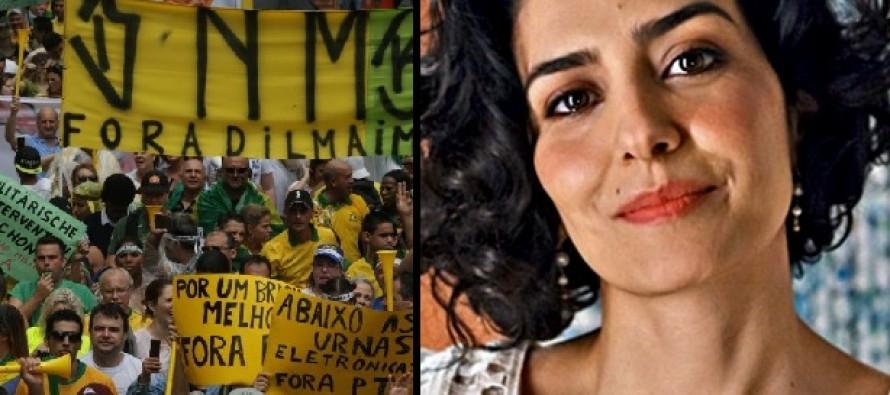 Leticia Sabatella critica 'sombra terrível e fascista' em manifestações
