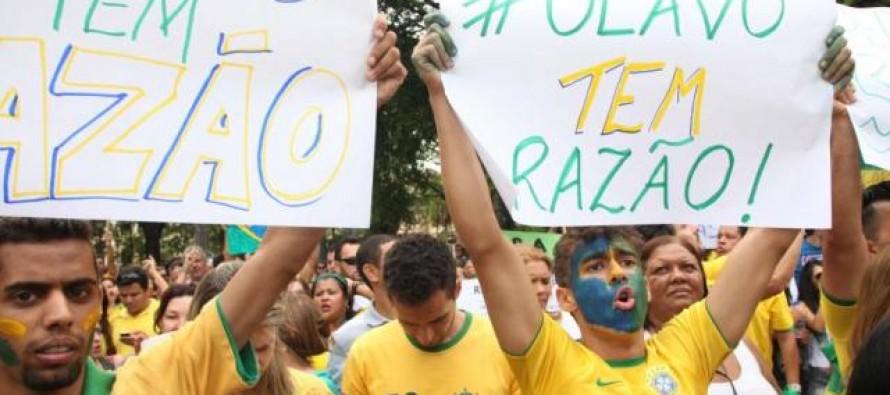 Belo Horizonte: Manifestação contra o governo tem perfil conservador e intolerante a políticas sociais