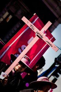 Manifestação em Ciudad Juarez. Alex Briseño / Flickr CC